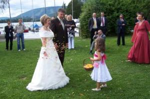 The Flower Girl Does An Outstanding Job