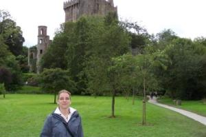 Me in Front Of Blarney Castle