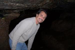 Matt in Badger's Cave