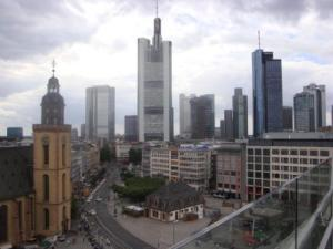 View Of Frankfurt City
