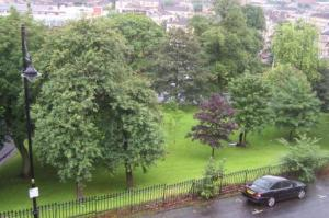 Kelvingrove Park from The Apartment Window