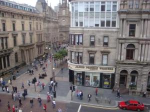 View From Main Office To Buchannan Street Below