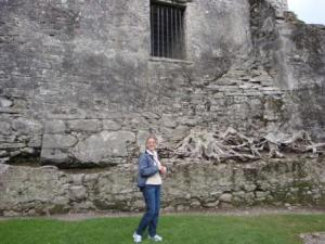 Me Next To Front Gate of Castle...