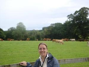 Me With My Cow Friends
