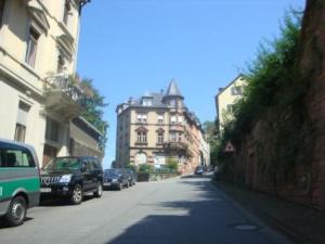 The Street To The Schloss in Heidelberg