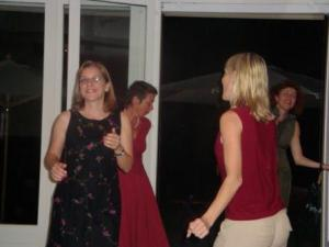 Me and Jackie Getting Down...sort of..