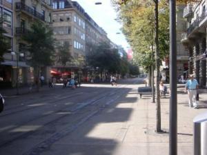 Zurich City Street