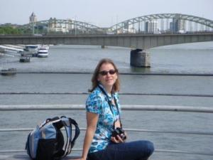 Me By The Rhine River, Koeln, Germany