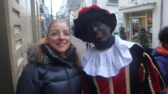 Me and Zwarte Pieter, Alphen aan den Rijn, NL