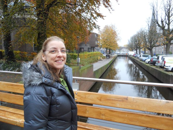 One of the many canals in Alphen!