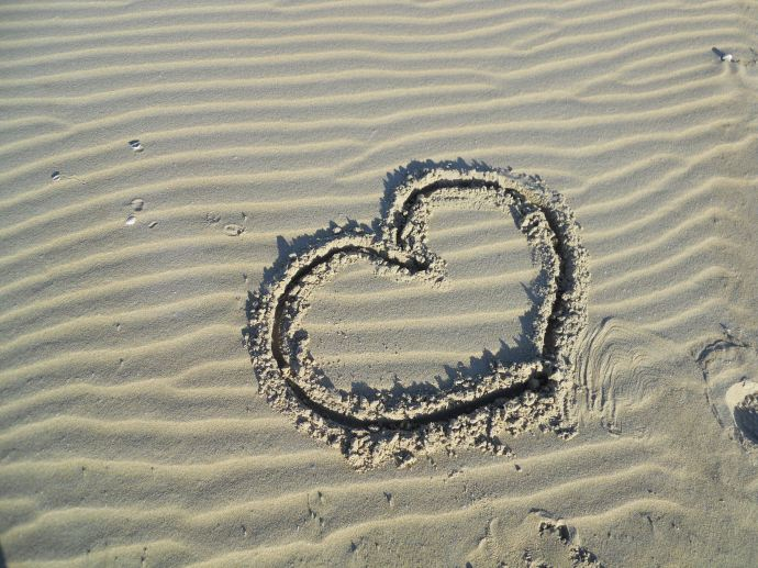 Found this on the beach there and thought it was really sweet.