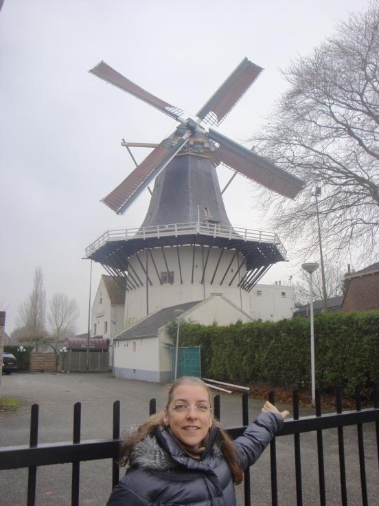 Windmill, Alphen aan den Rijn, Holland