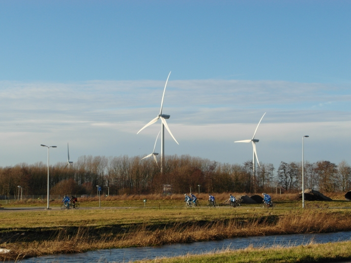 Windmills and Bicyclists!