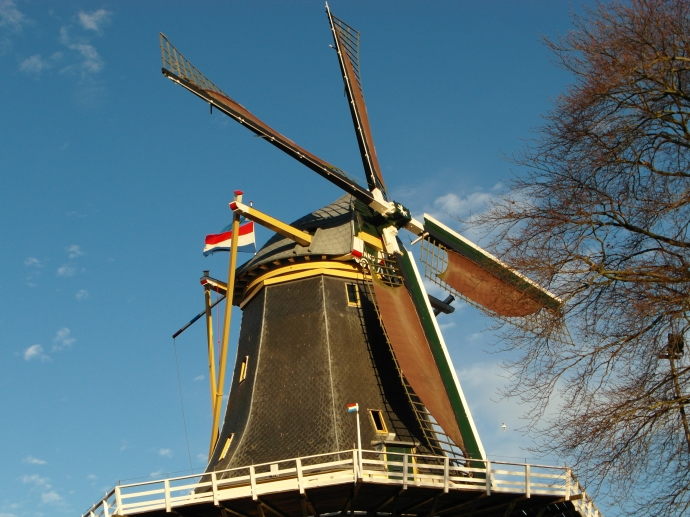 Another traditional Dutch windmill...