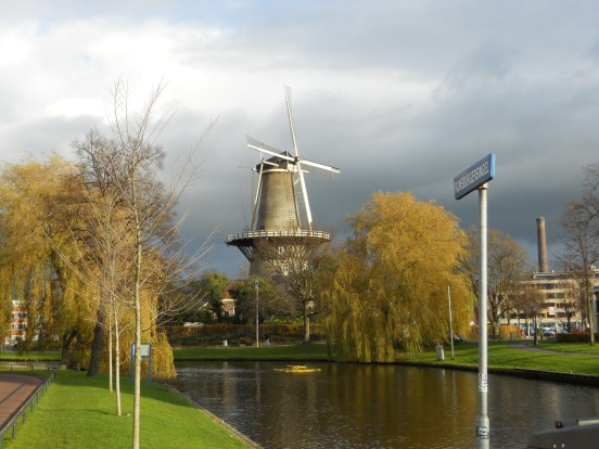Windmill, Leiden, Netherlands
