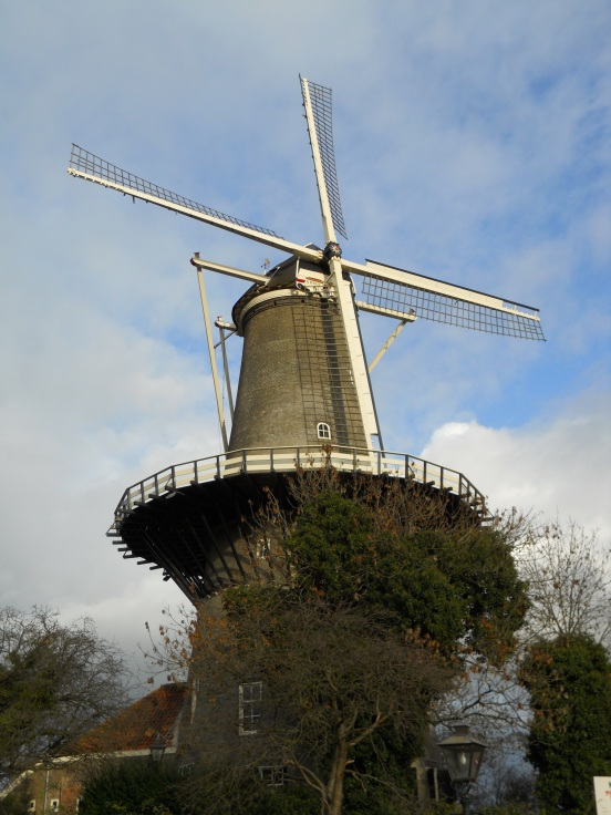 Same windmill but from a closer, awesomer view!
