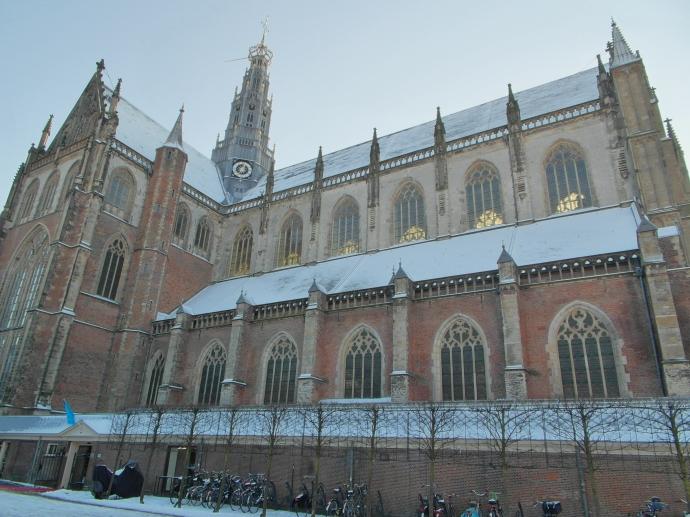 The Grote Kerk van St Bavo, Haarlem's cathedral