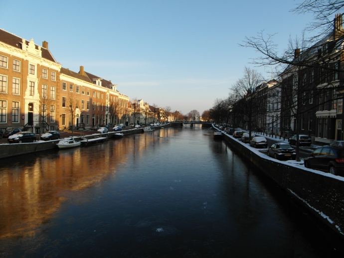 More beautiful canals in Holland. This one is in Haarlem.