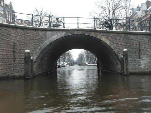 Beautiful canal views! January 2013