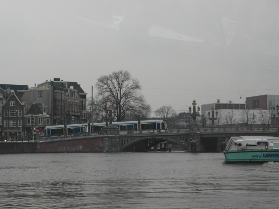Beautiful ornate bridge, Amsterdam