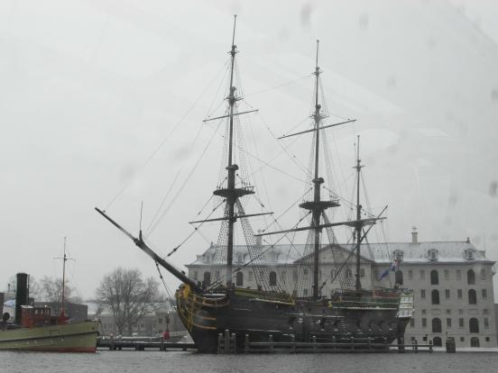 Beautiful Dutch Ship