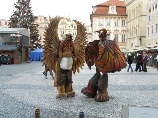 You see some characters when you travel the world...Prague was no different!